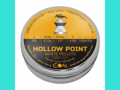 Пули Coal Hollow Point 4.5 (500)-0,54
