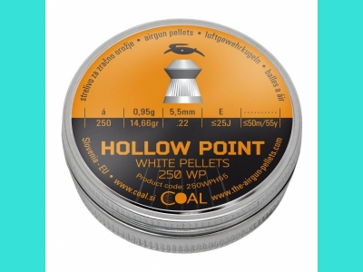 Пули Coal Hollow Point 5.5 (250)-0,95