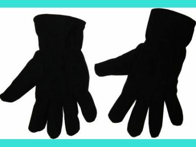Перчатки (флис, черные)