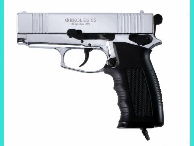 Пневматический пистолет Voltran Ekol ES 55 Chrome