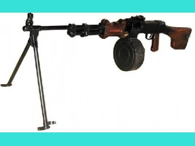 ММГ ручной пулемет Дегтярева (РПД-44)