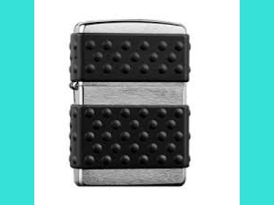 Зажигалка Zippo 200ZP Brush Chrome Zip Guard