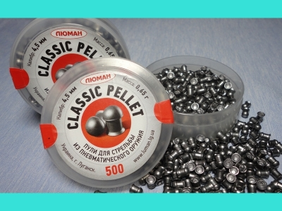 Пульки Люман Classic Pellets 0,65 500 шт