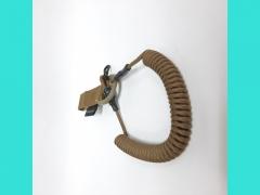 Шнур универсальный-под карабин+карабин+фастекс+D-кольцо S03