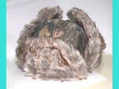 Шапка-ушанка на меху (дубок), 65081