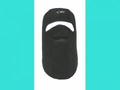 Шлем маска флисовая с прор.для глаз и рта черная, 65086