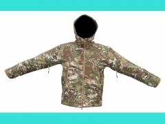 Куртка TAD (светлый камуфляж, мембранная ткань)