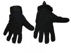 Перчатки тактические N-3 (кожа+ткань)
