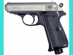 Пневматический пистолет Umarex PPK/S (хром)