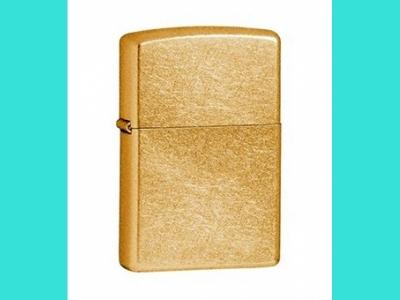 Зажигалка Zippo 207 G Gold Dus